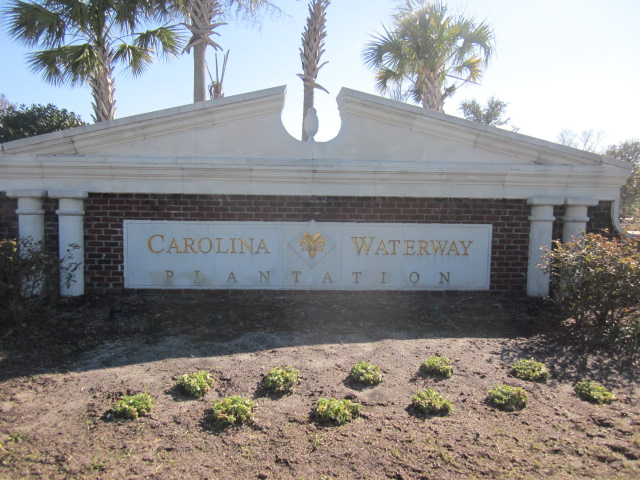 Carolina Waterway Plantation Entrance