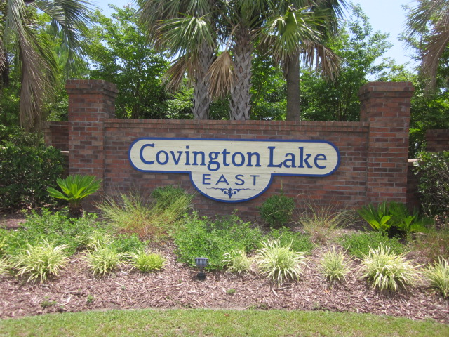 Covington Lake East entrance