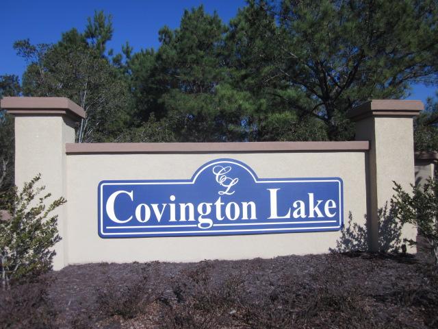 Covington Lake Entrance