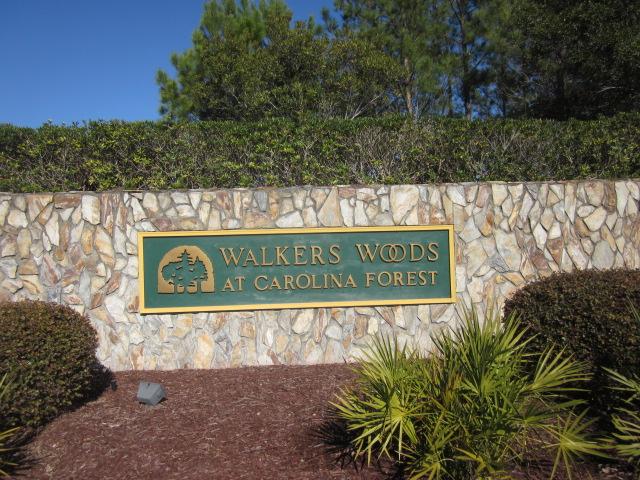 Walkers Woods Entrance