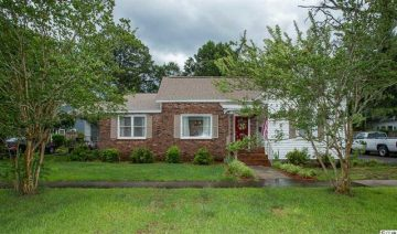 SOLD!  1307 6th Ave S – Historic – Conway SC 29526