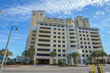 SOLD! Ocean Front Condo – Camelot by the Sea – Unit 614